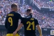 Atlético Madridin Kevin Gameiro iski hattutempun 5 minuuttiin