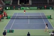 Video: Pelaaja löi tuomaria silmään – Kanada hylättiin Davis Cupissa