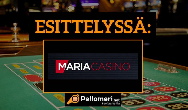 Maria Casino Esittely ja kasinobonus