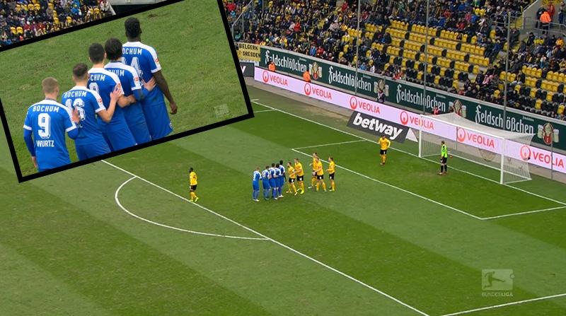 Klassikkovideo: 2. Bundesliigassa nähtiin todella hämmentävä kulmapotku
