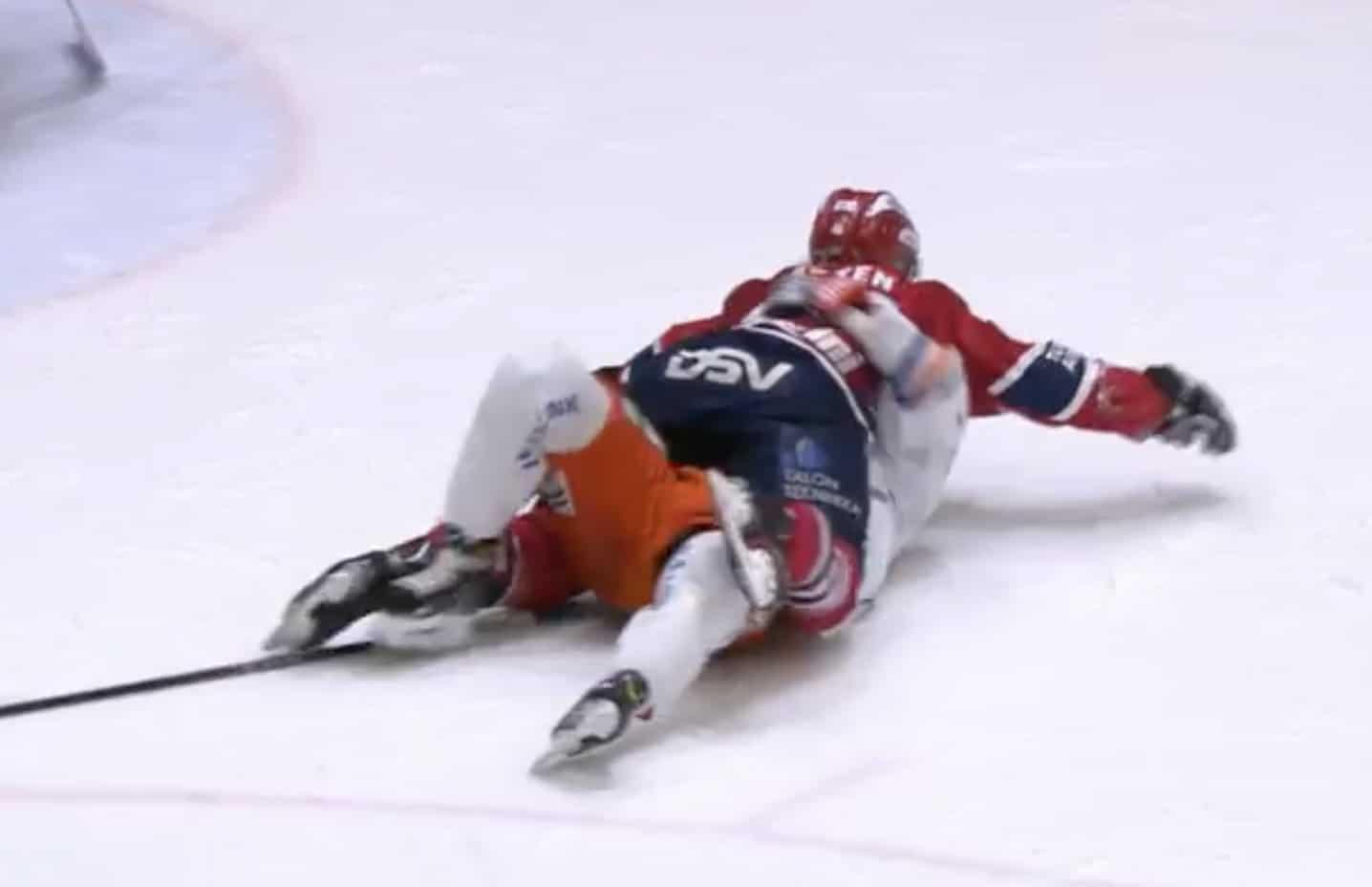 Video: Rantakari ja Åsten halailivat lempeästi jään pinnassa