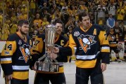 Video: Chris Kunitz laukoi Pittsburghin Stanley Cupin finaaliin ajassa 85:09