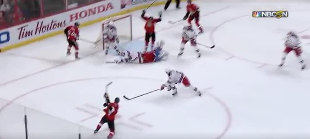 Henrik Lundqvist esitteli NHL-kauden atleettisimman torjunnan