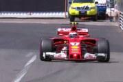 Kimi Räikkönen paalupaikalle Monacon GP:ssä