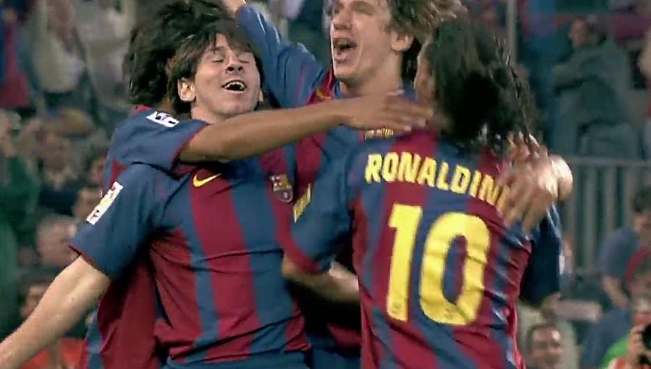 Leo Messin ensimmäinen maali barcelonassa - pallomeri.net