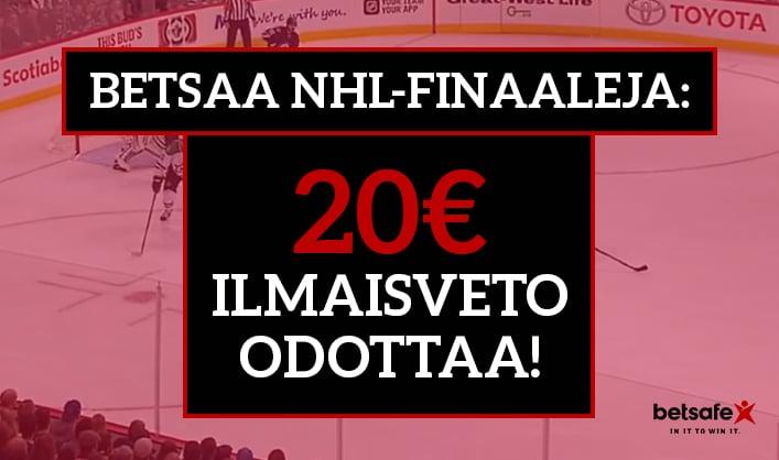 NHL-finaalit ilmaisveto