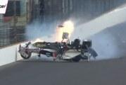 Video: Entinen F1-kuski Sébastien Bourdais jysäytti seinään lähes 400km/h nopeudella Indy-kisassa