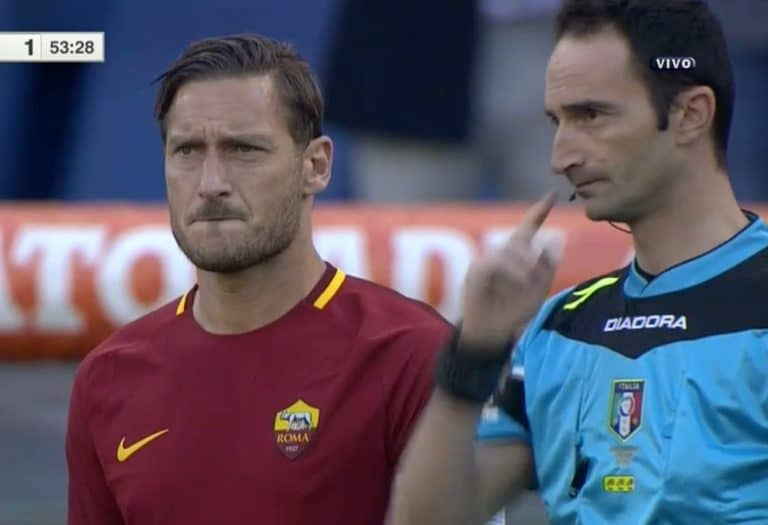 Francesco Totti päätti Roma-uransa – viimeinen ottelu tunteita täynnä