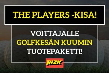 The Players -KISA! – oikein / lähimmäksi veikanneelle upea golfsetti