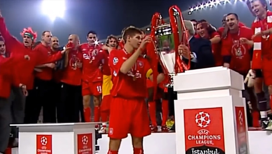 Klassikkovideo: Liverpool & kaikkien aikojen nousu UCL-finaalissa 2005