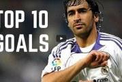 Raul tänään 40 vuotta – tässä Real Madrid -legendan TOP-10 maalit