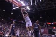 Video: Lauri Markkanen loisti NBA-kesäliigadebyytissään – pelipaidan nimimoka herätti hilpeyttä
