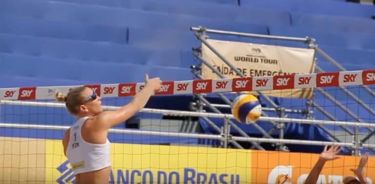 Riikka Lehtonen ja Taru Lahti-Liukkonen varmistivat jatkopaikan beach volleyn MM-kisoissa