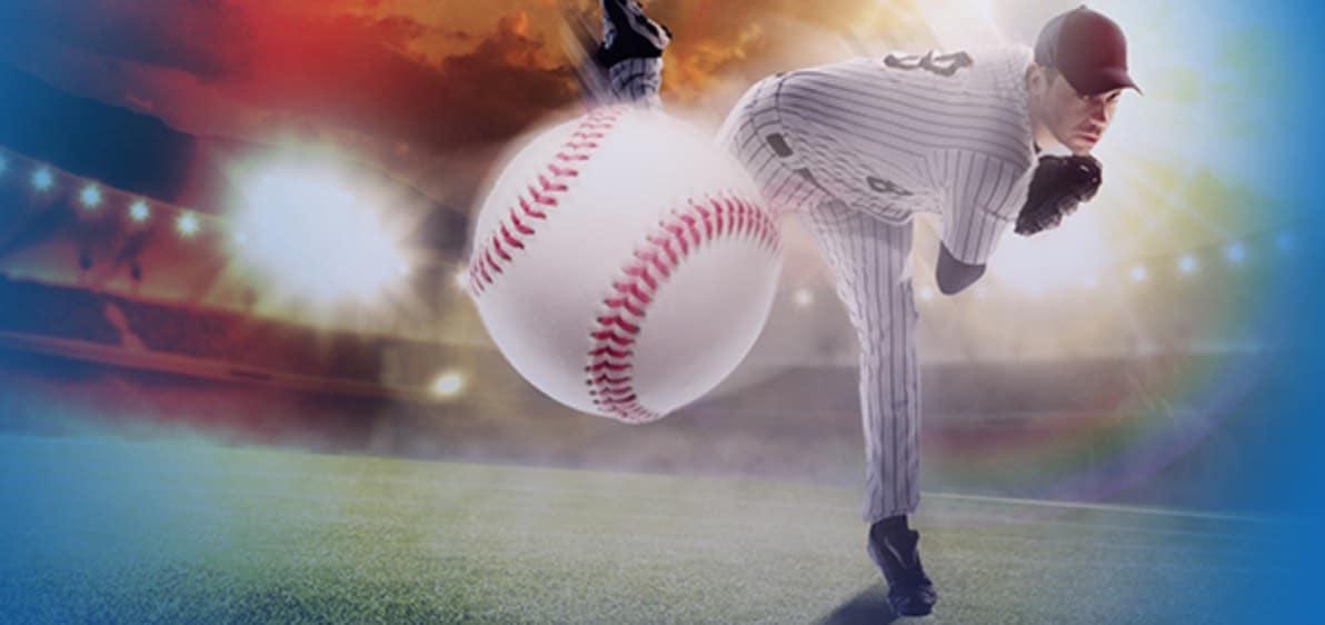 Lyö vetoa baseballista ja lunasta 10€ ilmaisveto MLB:hen