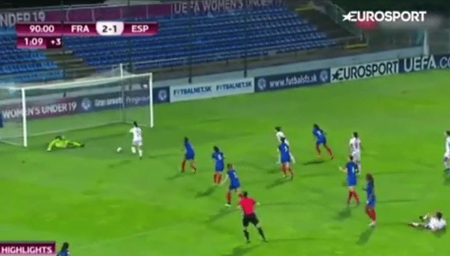 Klassikkovideo: Uskomaton maalipaikan hassaus U19 EM-finaalin lisäajalla