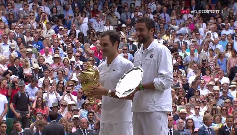 Roger Federer Marin Cilic Wimbledon Wimbledonin kaaviot - pallomeri.net