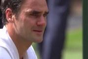 Video: Roger Federer puhkesi onnen kyyneliin nähtyään lapsensa