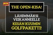 The Open -kisa! – lähimmäksi veikanneelle kesän kuumin golfpaketti!