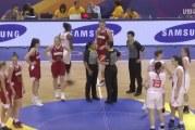Video: Venäjä heitti kolmosen omaan koriin alle 19-vuotiaiden tyttöjen MM-kisoissa