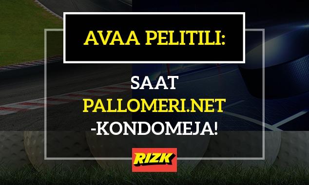 Avaa pelitili - saat kourallisen Pallomeri.net-kondomeja!