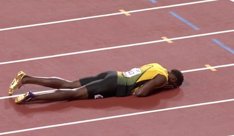 Usain Bolt loukkaantui – uran viimeinen juoksu päättyi surullisesti