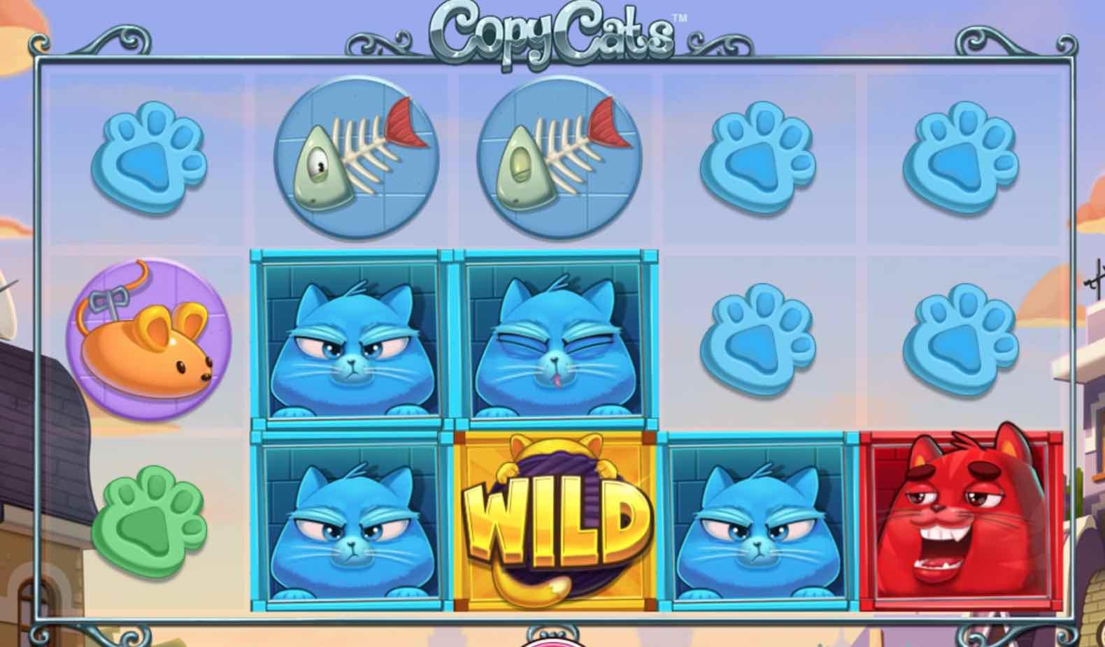 Kuukauden kasinopeli: Copy Cats -kolikkopeli on NetEntin uusi luomus