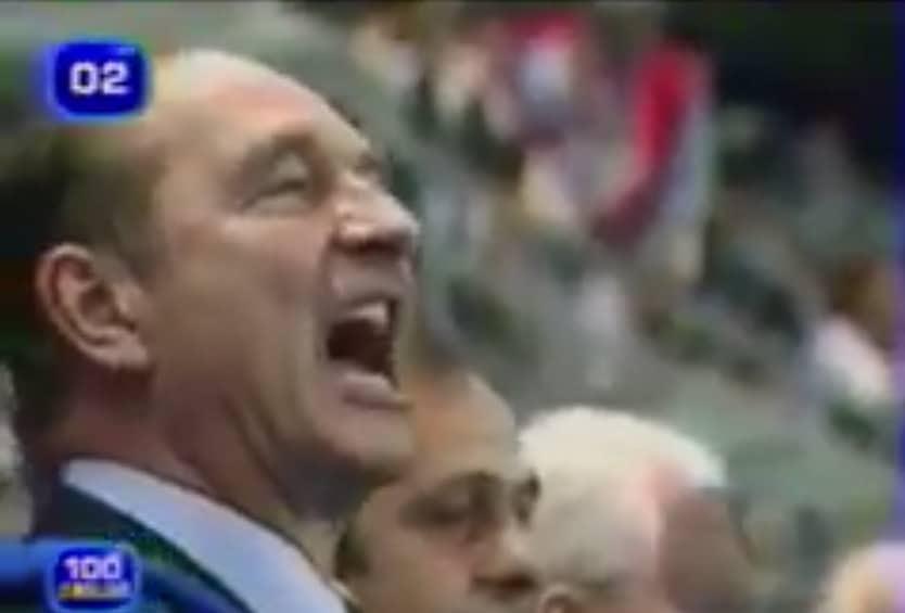 Jacques Chirac MM-finaali 1998 - pallomeri.net