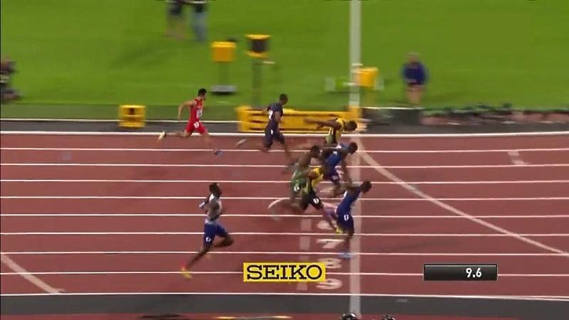 Video: Justin Gatlin jättiyllätykseen – syöksyi viime metreillä MM-kultaan