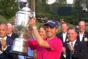 Video: Justin Thomas voitti PGA Championshipin – tämä putti jää historiaan