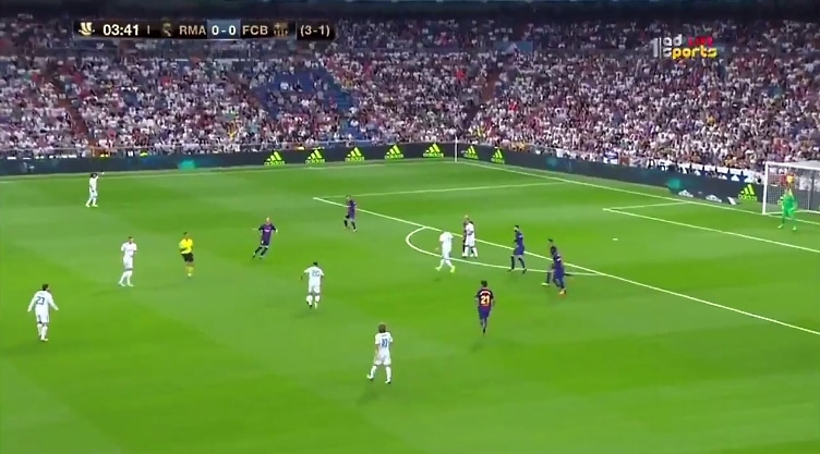 Marco Asensio tykitti mahtavan osuman Super Cupissa