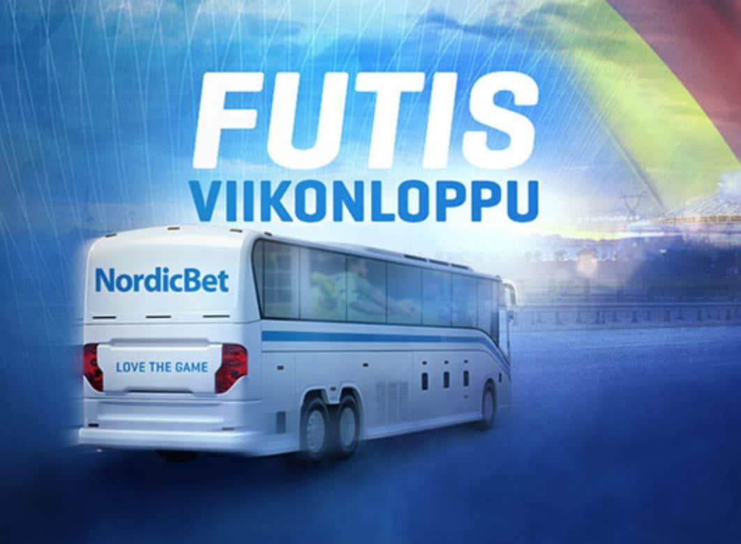 Voita elämäsi kovin futisviikonloppu – NordicBetin bussissa näet 3 päivässä 3 huippumatsia
