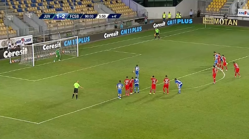 Klassikkovideo: Sarjanousijalla oli mahdollisuus tasoittaa lisäajalla Steaua Bukarestia vastaan - Panenka-pilkku täysin mönkään