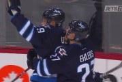 Klassikkovideo: Patrik Laine & NHL-uran ensimmäinen hattutemppu Jetsin oman selostajan hehkuttamana