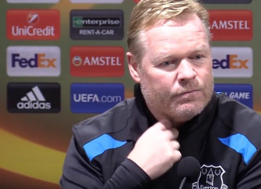 Surkea alkukausi maksoi työpaikan – Everton antoi Ronald Koemanille potkut