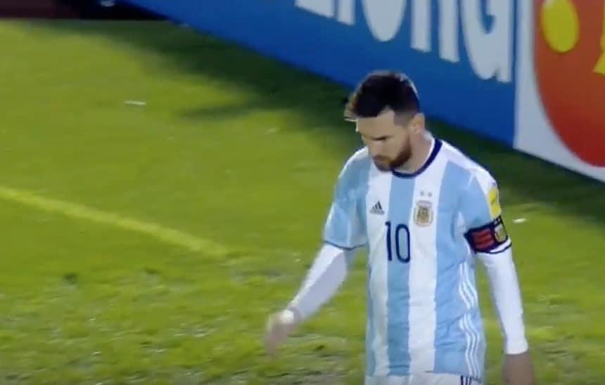 Lionel Messi Nigeria-Argentiina Messin ilta Argentiinan joukkue Lionel Messi Argentiina MM-karsinnat / Pallomeri.net