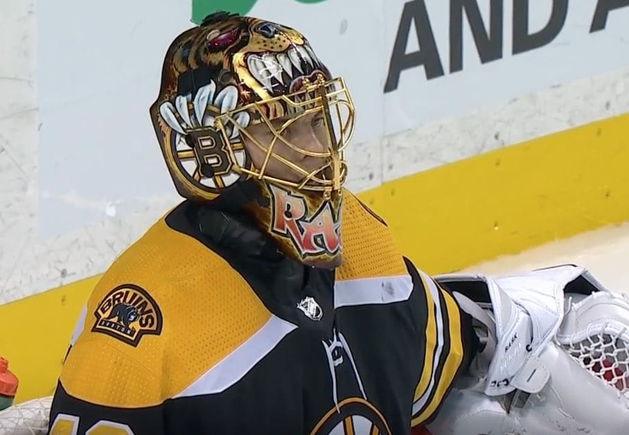 Leijonat Bruins Tuukka Rask Boston NHL / Pallomeri.net