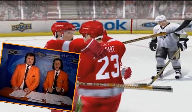 Klassikkovideo: Mika Saukkonen & Timo Jutila NHL 09 -pelin selostajina