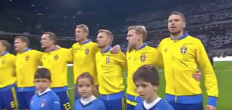 Video: Italialaiset buuasivat Ruotsin kansallislaululle – Gianluigi Buffon näytti suuruutensa buuajille