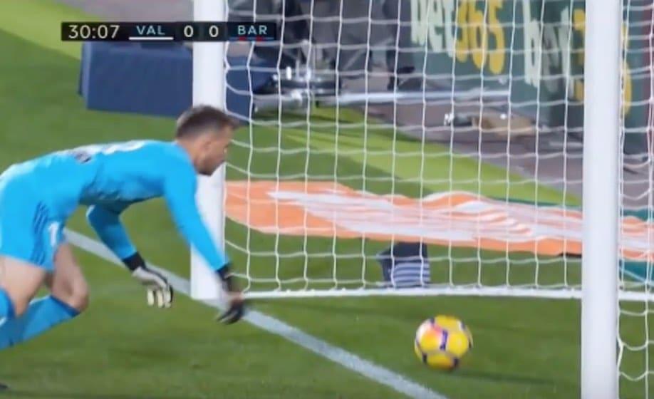 Video: La Ligassa karmea tuomarivirhe – Lionel Messin maali meni tuomaristolta ohi