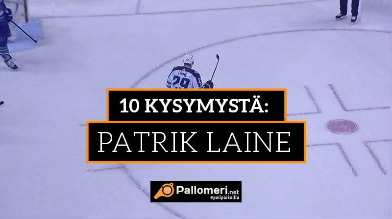10 kysymystä: Patrik Laine -
