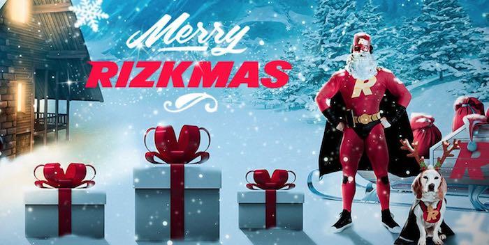 Rizk käynnisti joulun – lunasta jopa 100€ arvoinen lahja jokaisena päivänä