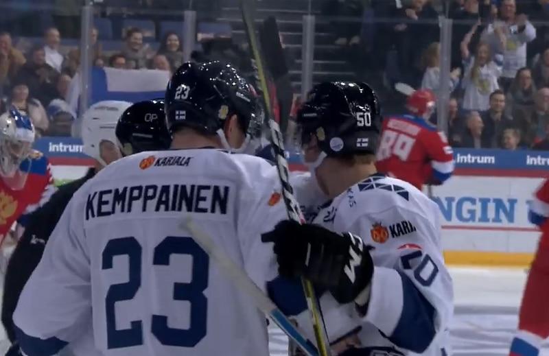 Tre Kronor jälleen Leijonia etevämpi olympiajäillä - Kemppainen maalasi