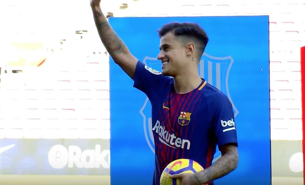 PSG Coutinho Barcelona La Liga / Pallomeri.net