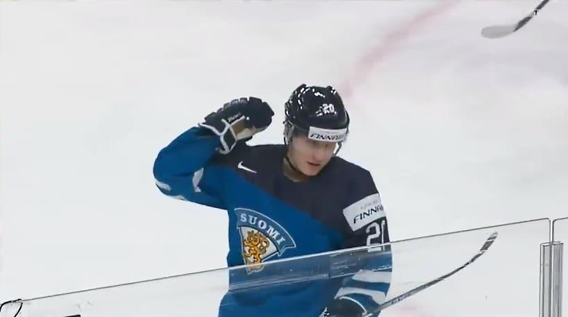Video: Eeli Tolvanen jakoi fantastisen rystypassin – Kontiola täräytti Leijonat johtoon