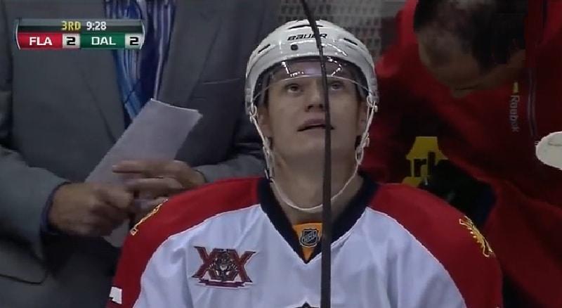 Klassikkovideo: Aleksander Barkovin NHL-uran avausmaali