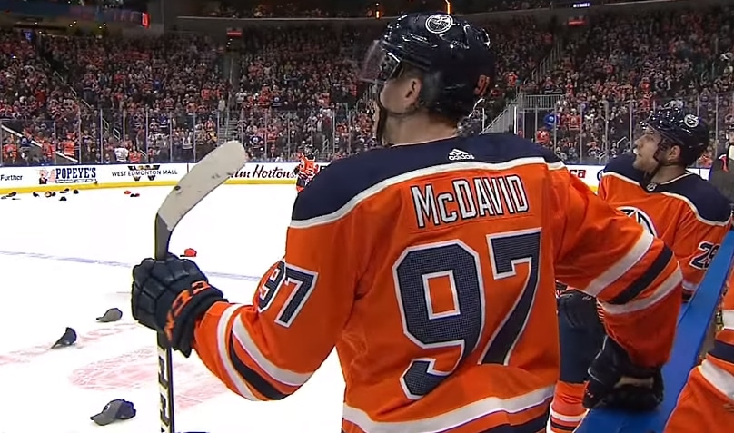 100 parasta nhl prime time Connor McDavid NHL 19 - Pallomeri.net
