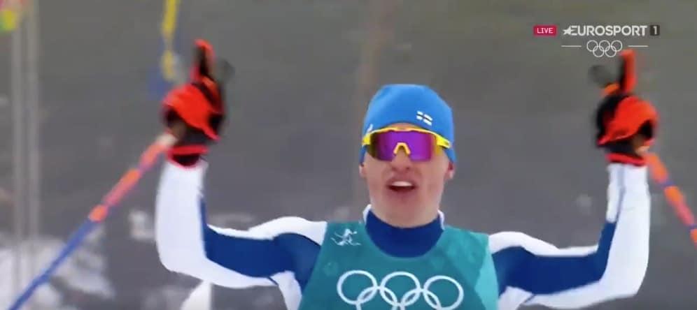 Video: Suomeen 50 kilometrin olympiakultaa 58 vuoden tauon jälkeen – tässä Iivo Niskasen tunteikas maaliintulo
