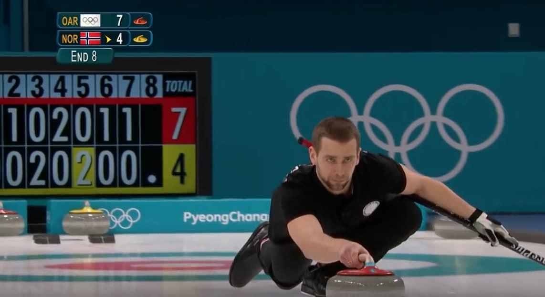 Curlingista olympiapronssia voittanut venäläispelaaja keskellä dopingskandaalia