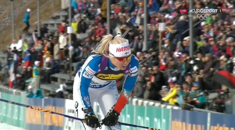 Ampumahiihtäjä Mari Laukkanen valittiin mukaan hiihdon parisprintille