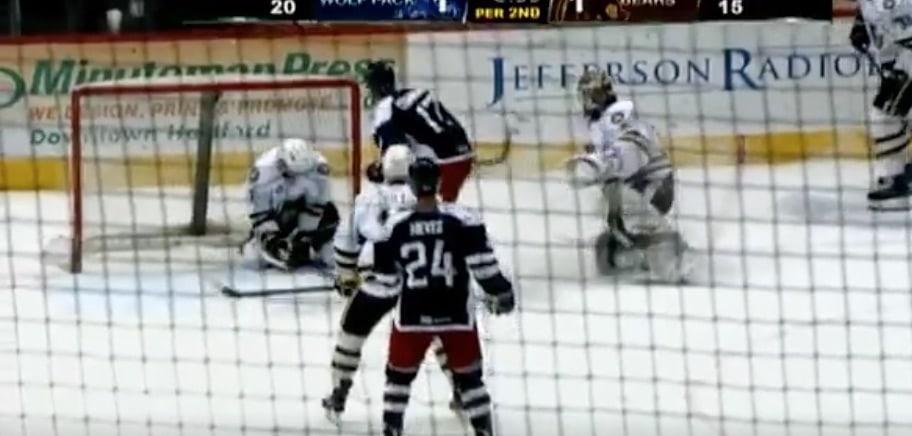 AHL Connor Hobbs Hershey / Pallomeri.net